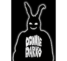 "Donnie Darko ""Frank the Bunny"" Photographic Print"