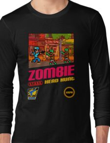 Zombie Head Hunt Long Sleeve T-Shirt