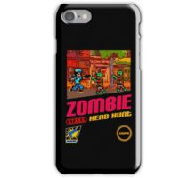 Zombie Head Hunt iPhone Case/Skin