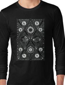 Cosmica - Negative Long Sleeve T-Shirt