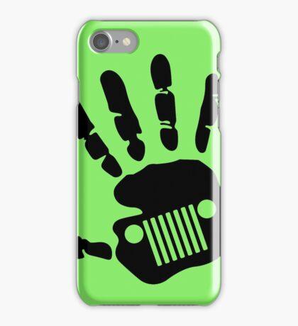 Jeep Wrangler JK Hand Wave iPhone Case/Skin