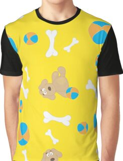 Seamless background with toys Graphic T-Shirt