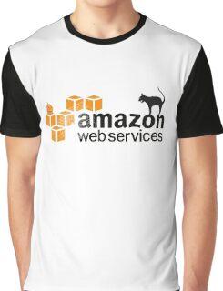AWS logo (Halloween version) Graphic T-Shirt