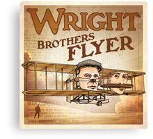 "WINGS Series ""WRIGHT BROS"" Canvas Print"