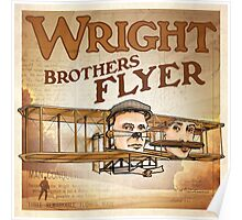 """WINGS Series """"WRIGHT BROS"""" Poster"""