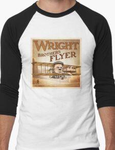 "WINGS Series ""WRIGHT BROS"" Men's Baseball ¾ T-Shirt"