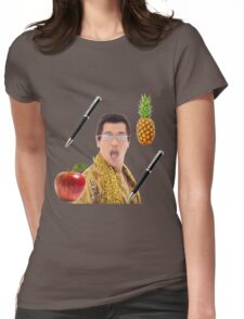 Pen Pineapple Apple Pen Womens Fitted T-Shirt