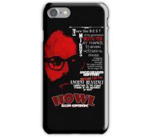 Allen Ginsberg Howl - Beat Poem Author T-shirt iPhone Case/Skin
