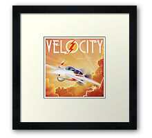 "WINGS Series ""VELOCITY"" Framed Print"
