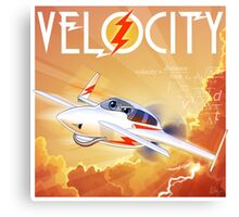 "WINGS Series ""VELOCITY"" Canvas Print"