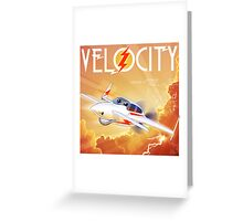 "WINGS Series ""VELOCITY"" Greeting Card"