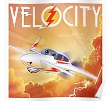 """WINGS Series """"VELOCITY"""" Poster"""