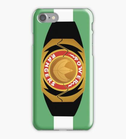Green Morpher Iphone Case iPhone Case/Skin
