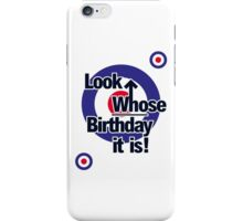 Who Birthday Card (no age) iPhone Case/Skin