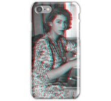 Queen Elizabeth streetwear iPhone Case/Skin