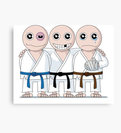 Survive Martial Art Canvas Print