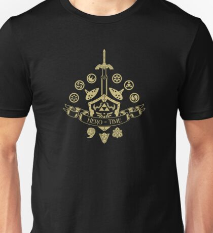 Hero of Time - Coat of Arms Unisex T-Shirt