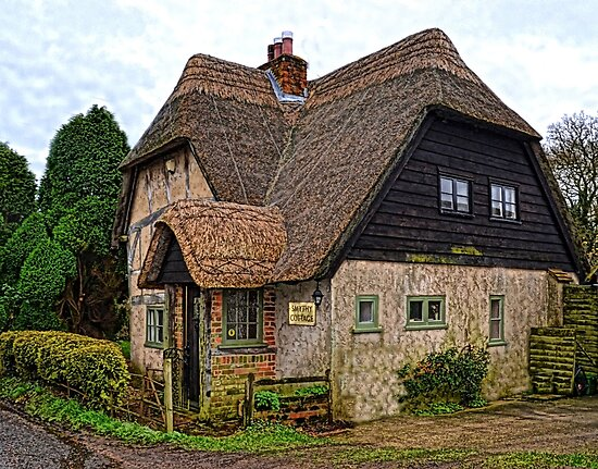 English Country Cottage by lynn carter