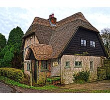 English Country Cottage Photographic Print