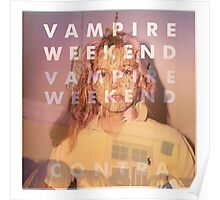 Vampire Weekend Overlay Poster