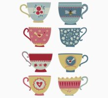 Tea Cups Kids Clothes