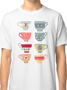 Tea Cups Classic T-Shirt