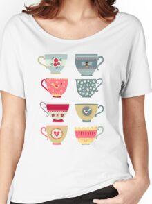 Tea Cups Women's Relaxed Fit T-Shirt
