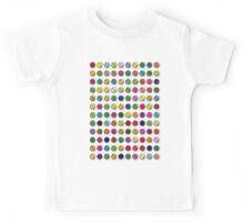Multi-coloured Pills Pattern Kids Tee