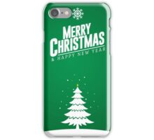 Merry Christmas & Happy New Year iPhone Case/Skin