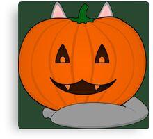 Pumpkin disguise Canvas Print