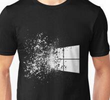 windows logo shattered Unisex T-Shirt