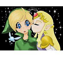 Zelda's Kiss Photographic Print