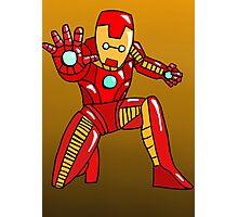 Cute Iron Man Photographic Print