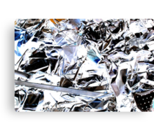 scrap metal Canvas Print