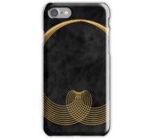 gold heart iPhone Case/Skin