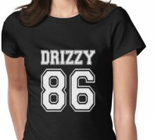 Team Drizzy Drake 86 Shirt Womens Fitted T-Shirt