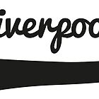Liverpool FC Swirl T-Shirt Apparel by springwoodbooks
