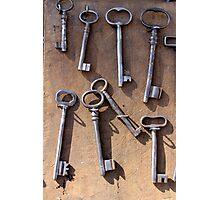 old set of keys Photographic Print