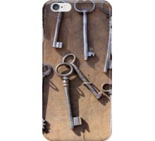 old set of keys iPhone Case/Skin