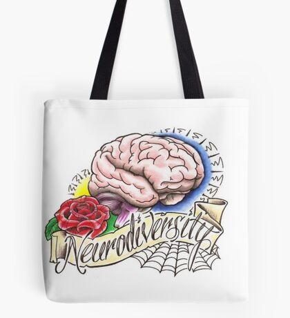 Neurodiversity Tattoo Flash Tote Bag