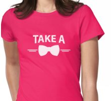Take A Bow Womens Fitted T-Shirt