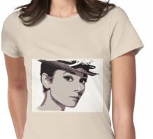 Simply Audrey Womens Fitted T-Shirt