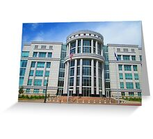 Scott M. Matheson Courthouse, Salt Lake City, UT Greeting Card