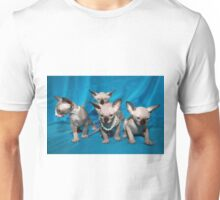 four sphinx kittens Unisex T-Shirt