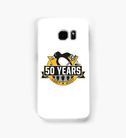 Pittsburgh Penguins 50th Anniversary Logo - Updated 4th Stanley Cup Samsung Galaxy Case/Skin