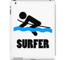 Surfer iPad Case/Skin