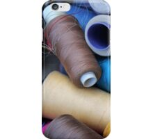 sewing thread iPhone Case/Skin