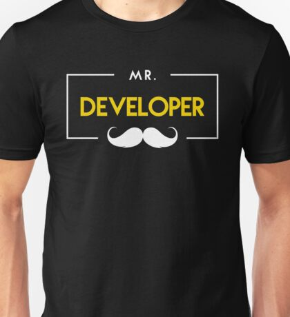 Developer Unisex T-Shirt