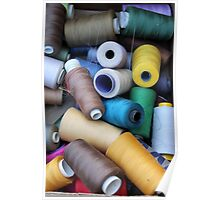 sewing thread Poster