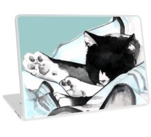 Cloud Kitty Napping Laptop Skin